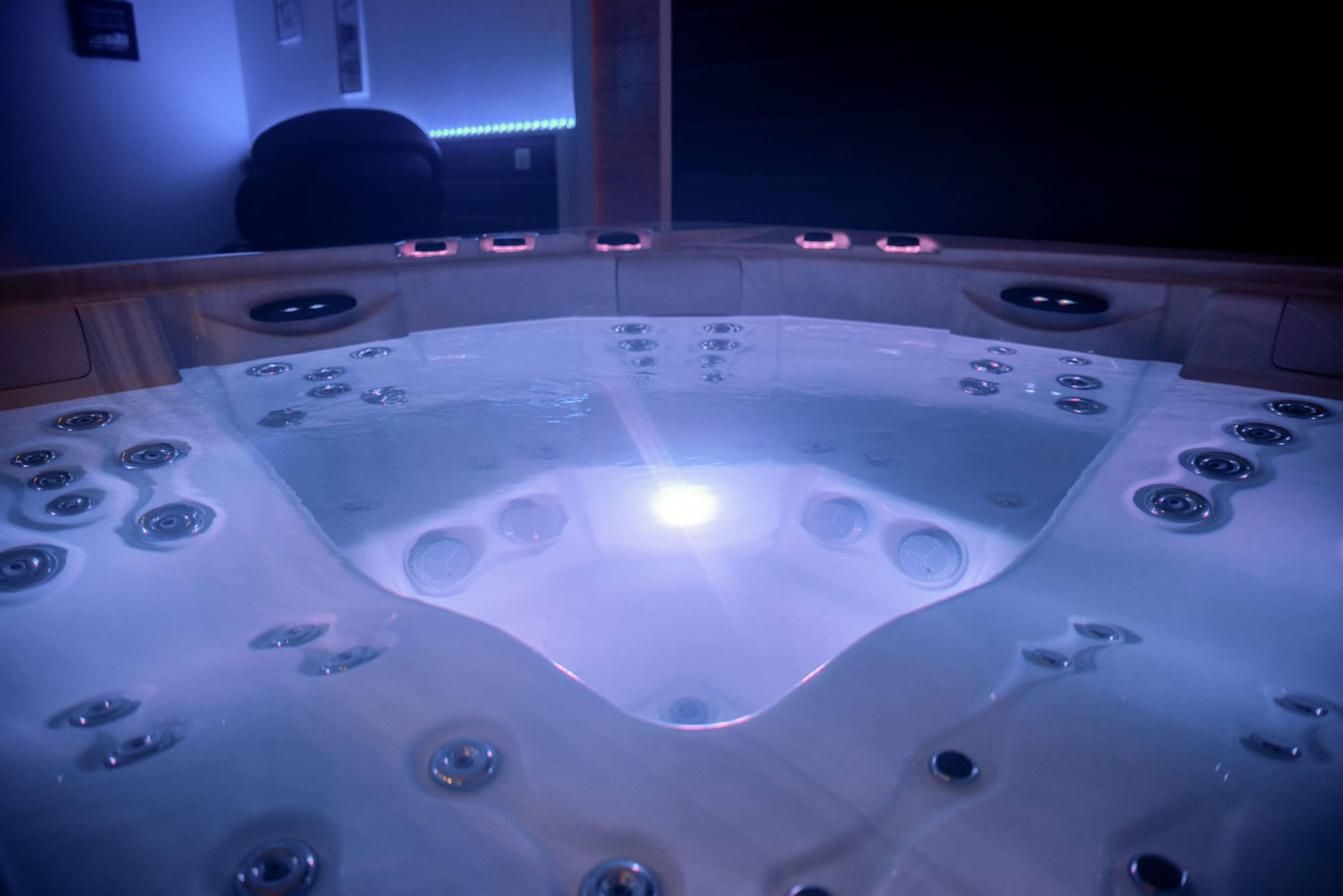 Spa hammam jacuzzi privatif bassin le teich